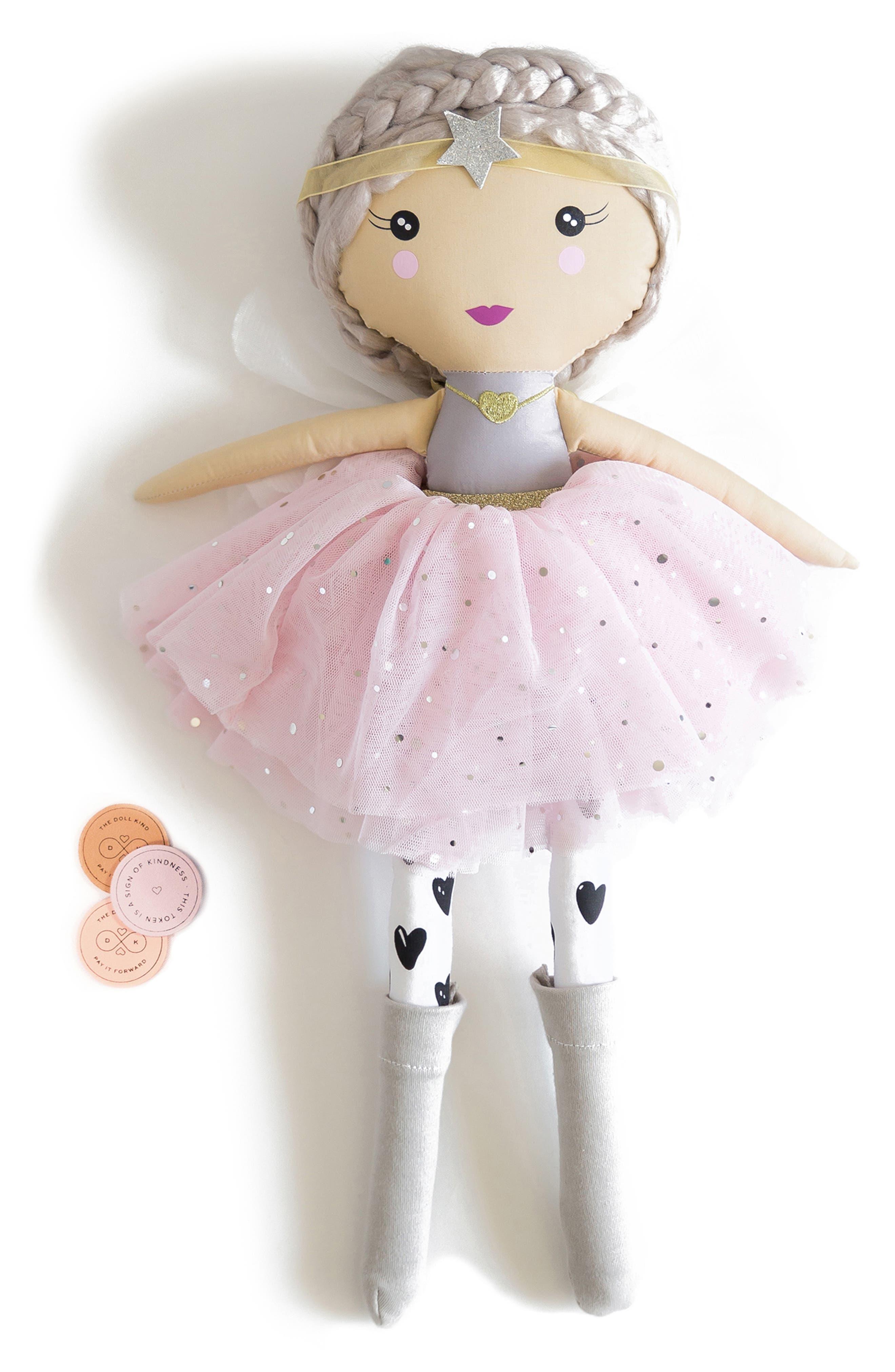 Girls Kind Culture Co The Peace Doll  Kindness Kit Set