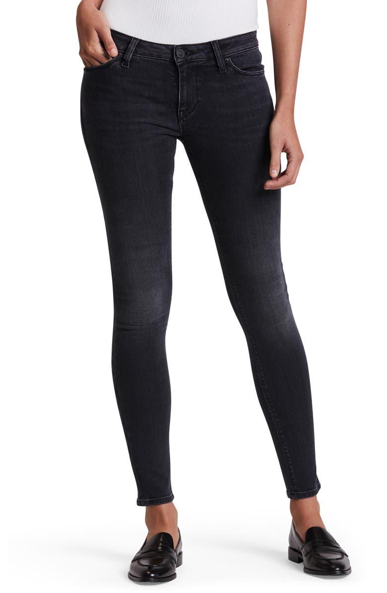 HUDSON JEANS Straight Leg Jeans, Main, color, 002
