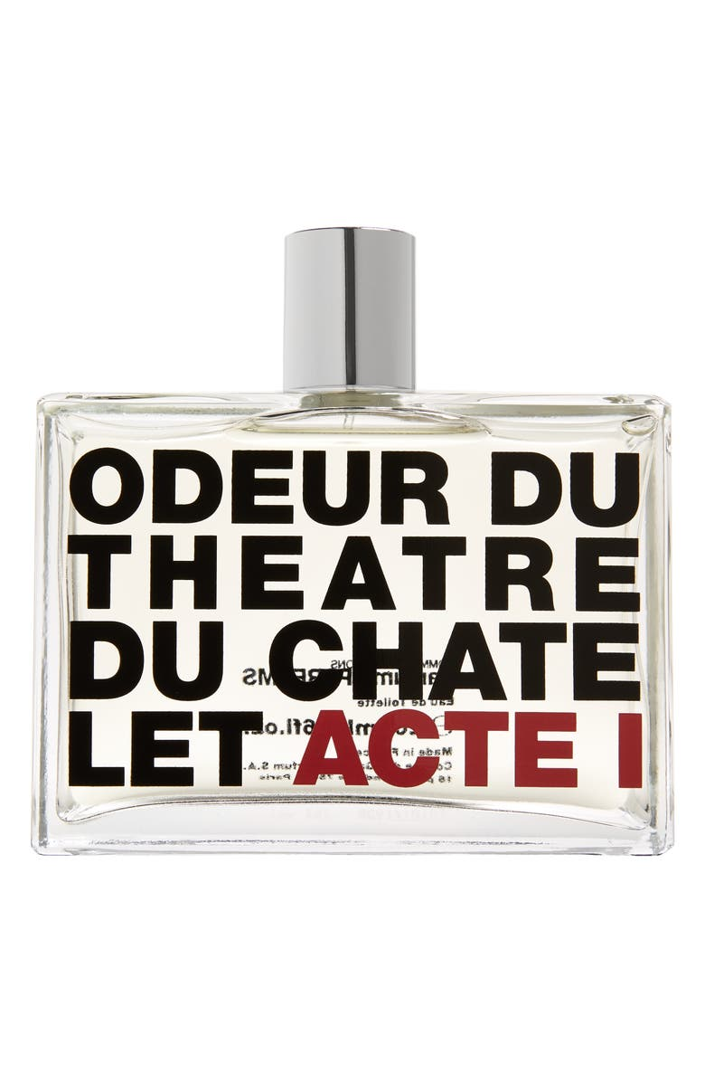 COMME DES GARÇONS Odeur du Théâtre du Châtelet Acte 1 Eau de Toilette, Main, color, MULTI