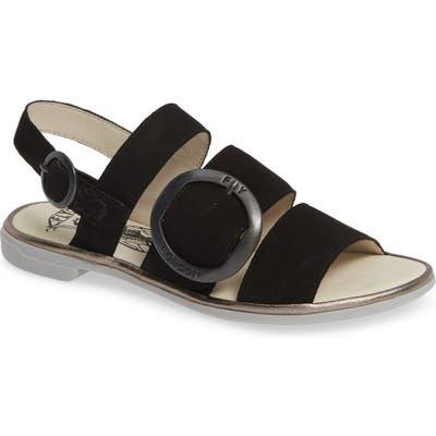 Fly London Codo Sandal, Black