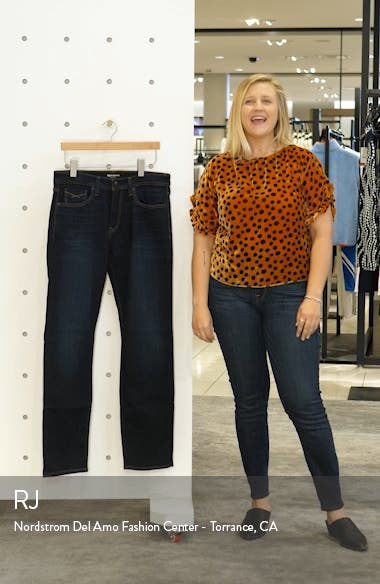 Automatic Straight Leg Jeans, sales video thumbnail