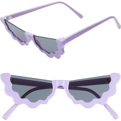 Dadybones The Groover 51mm Cat Eye Sunglasses - Lavender