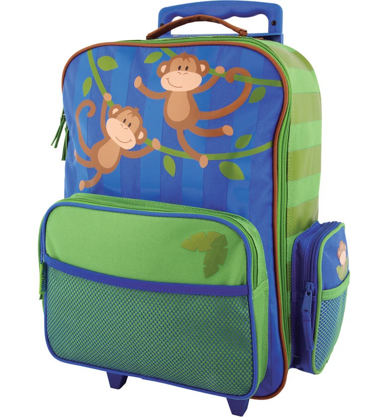 STEPHEN JOSEPH 18-Inch Rolling Suitcase, Main, color, MONKEY