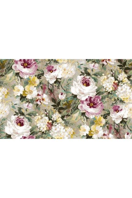Image of WallPops! Macau Magenta Painterly Floral Wallpaper