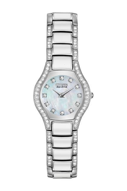 Image of Citizen Women's Normandie Crystal Bracelet Watch, 22mm