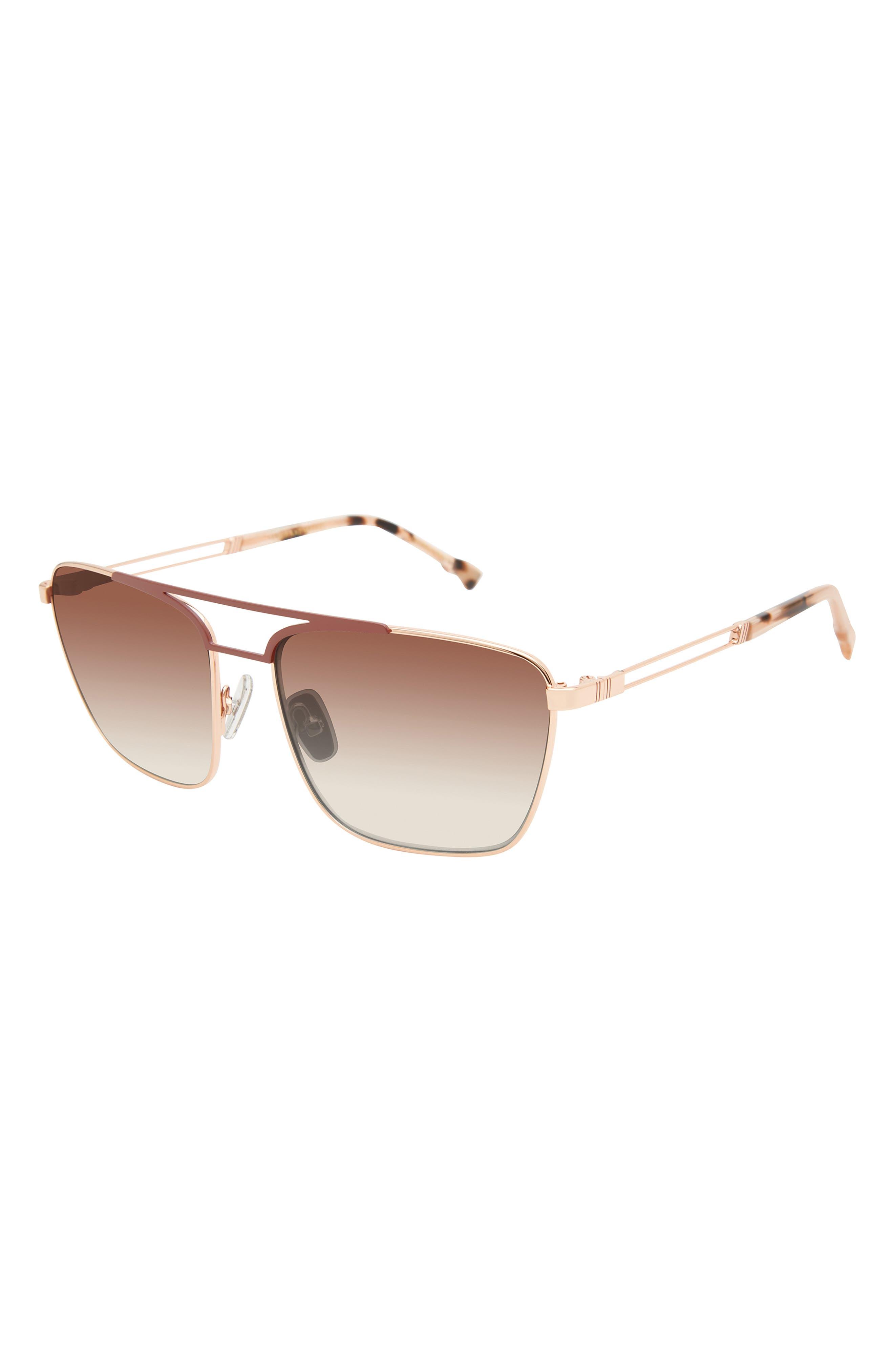 Manifest 57mm Navigator Sunglasses