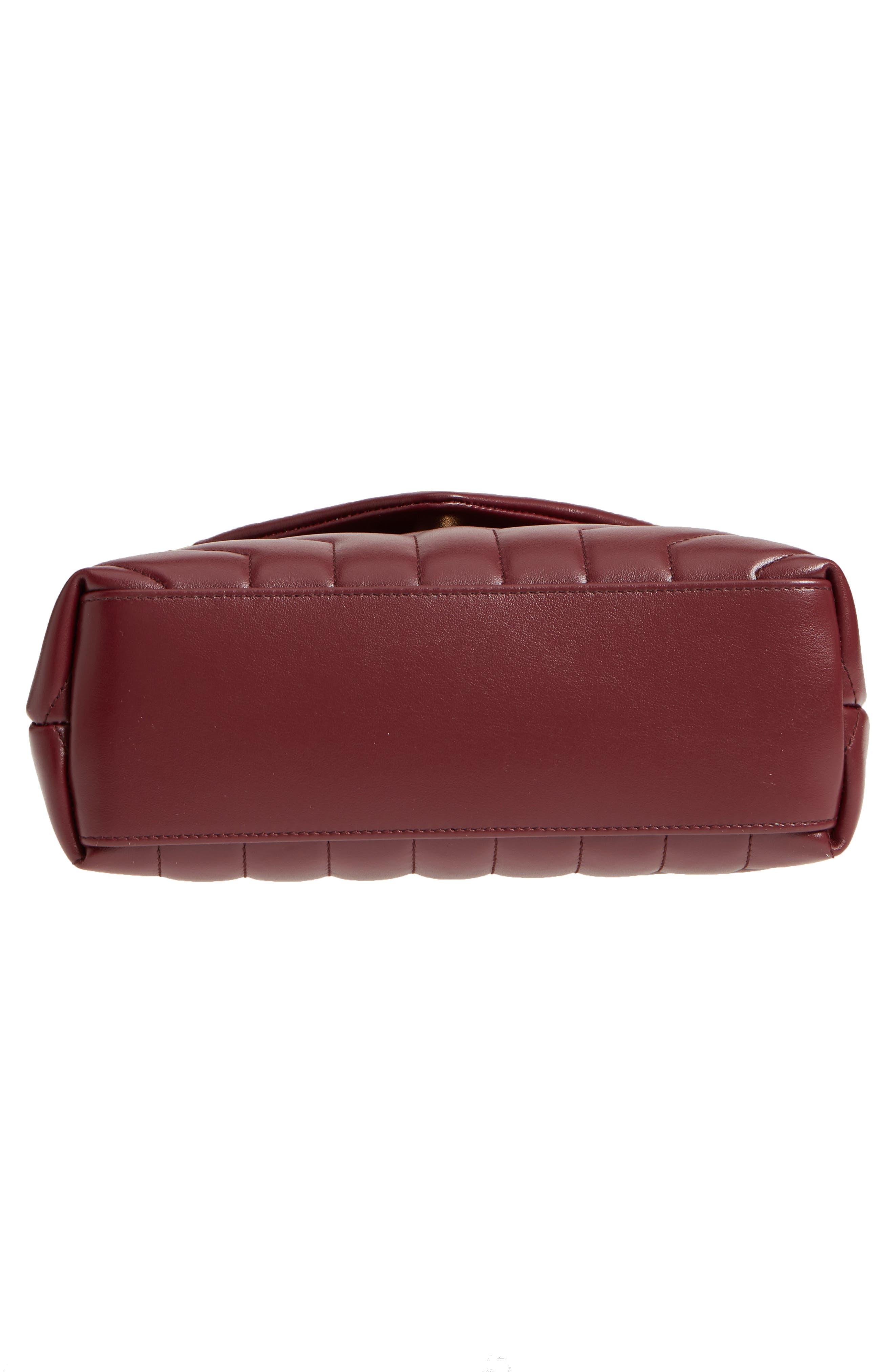 ,                             Small Loulou Leather Shoulder Bag,                             Alternate thumbnail 33, color,                             930