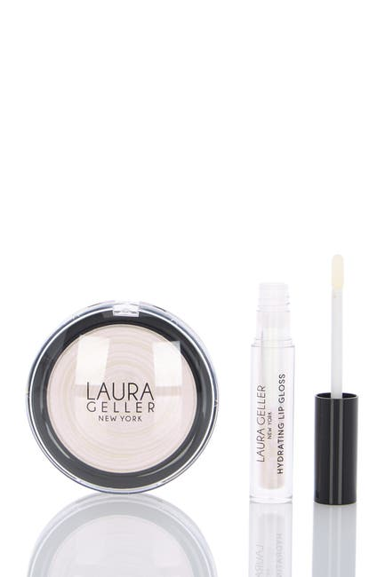 Image of Laura Geller New York Glow Beyond 2 Piece Kit, Moon Dust