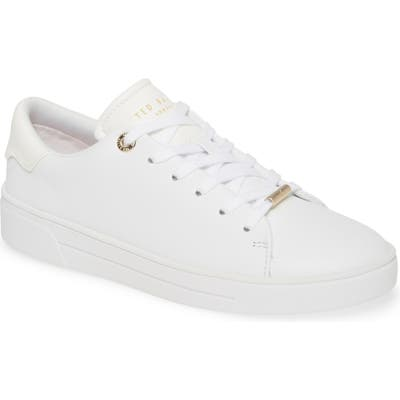 Ted Baker London Indre Low Top Sneaker, White
