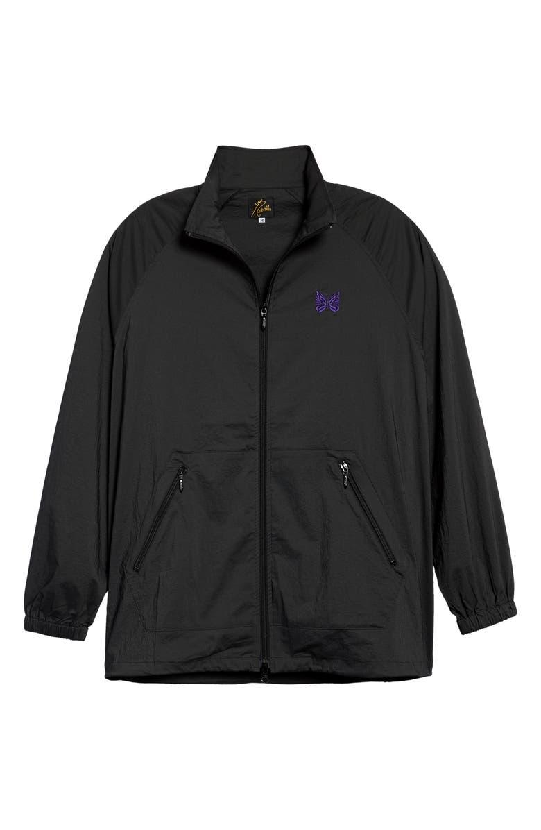 NEEDLES Jog Jacket, Main, color, CHARCOAL