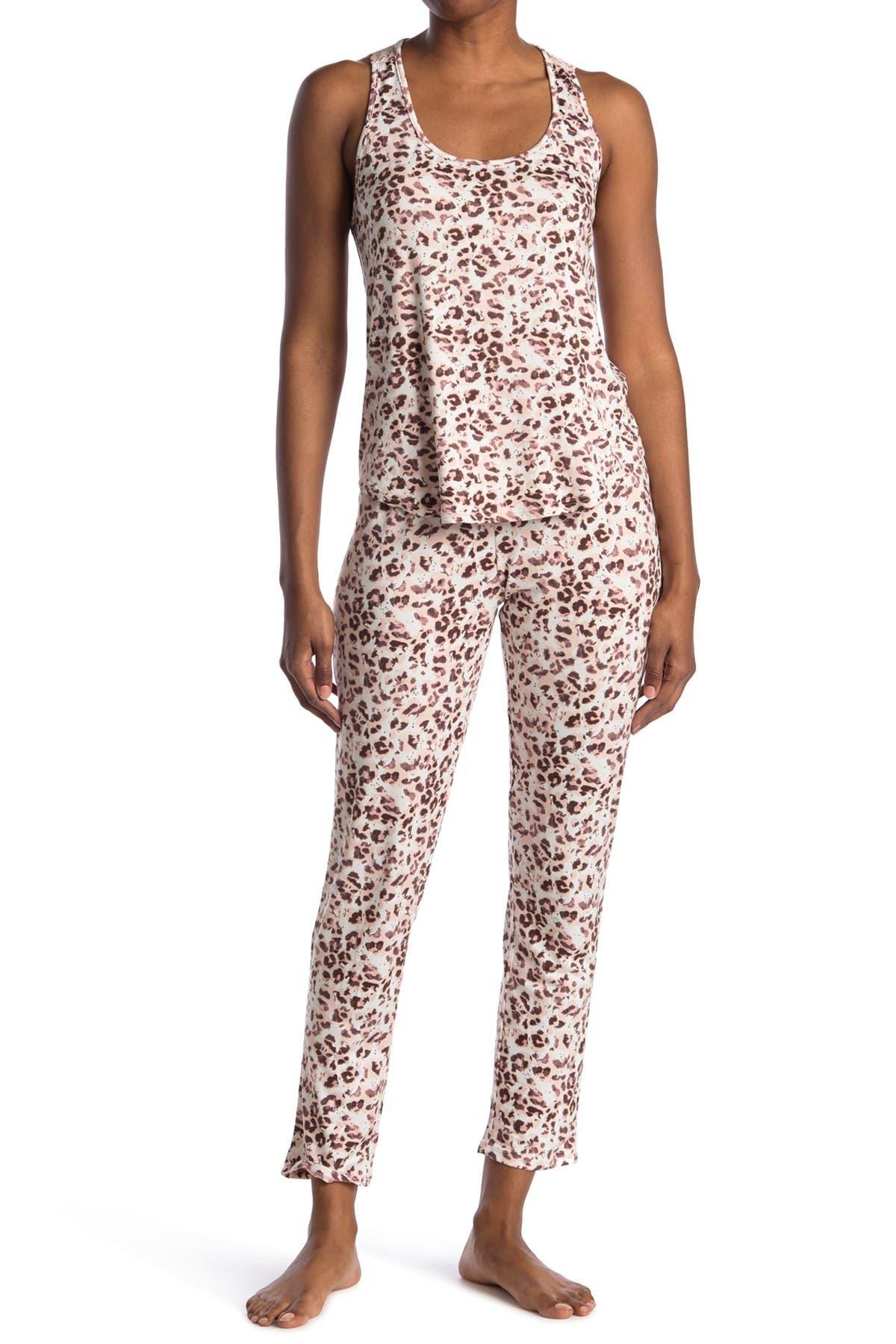 Image of Flora by Flora Nikrooz Tank & Pants 2-Piece Pajama Set