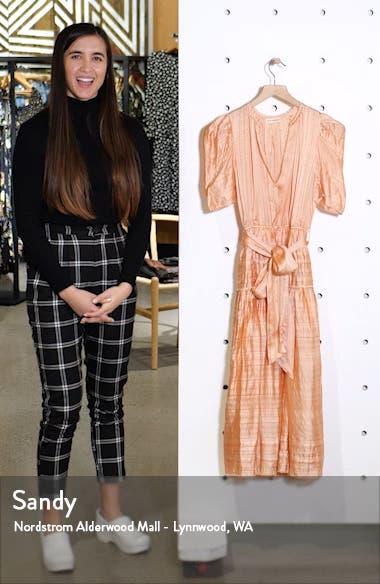 Eudora Textured Midi Dress, sales video thumbnail