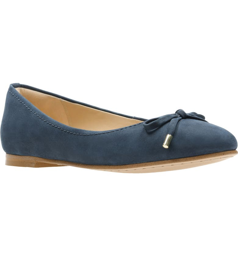 CLARKS<SUP>®</SUP> Grace Lily Flat, Main, color, 425