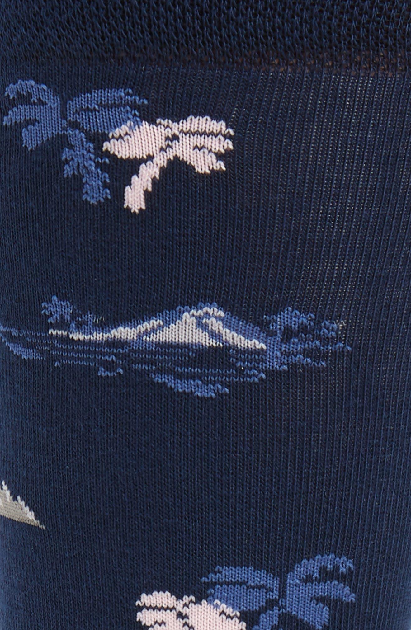 ,                             Holiday Resort Socks,                             Alternate thumbnail 2, color,                             NAVY