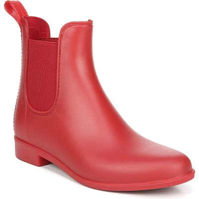 Sam Edelman Tinsley Waterproof Rain Boot, Red