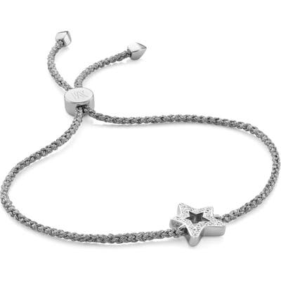 Monica Vinader Alphabet Star Diamond Friendship Bracelet