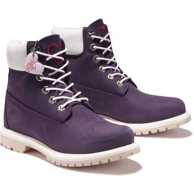 Timberland Love Collection 6-Inch Waterproof Insulated Boot- Purple