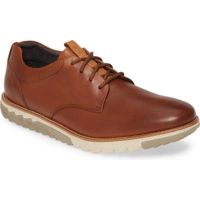 Hush Puppies Expert Plain Toe Derby- Brown