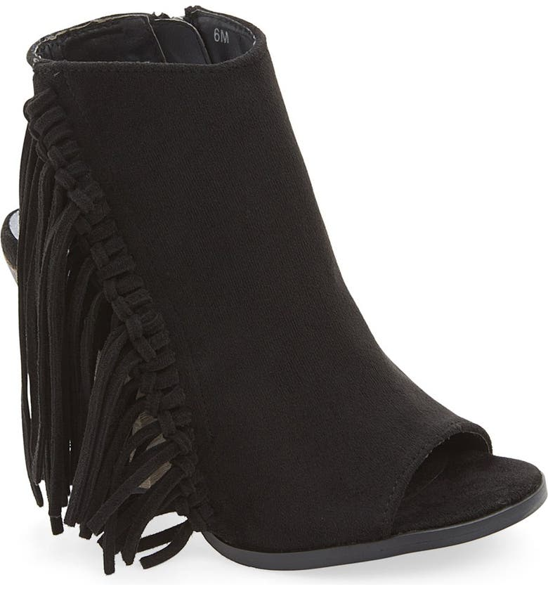 COCONUTS BY MATISSE 'Love In' Fringe Bootie, Main, color, 002