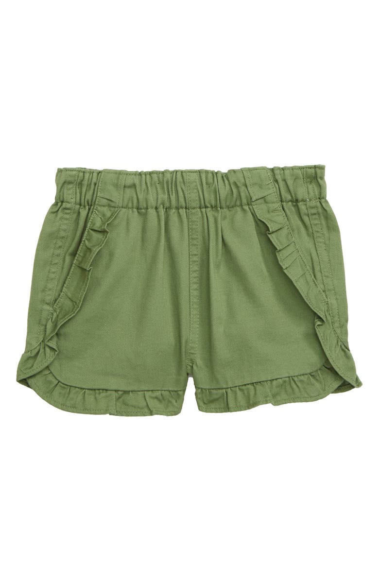 CREWCUTS BY J.CREW Elsa Ruffle Pull-On Shorts, Main, color, 300