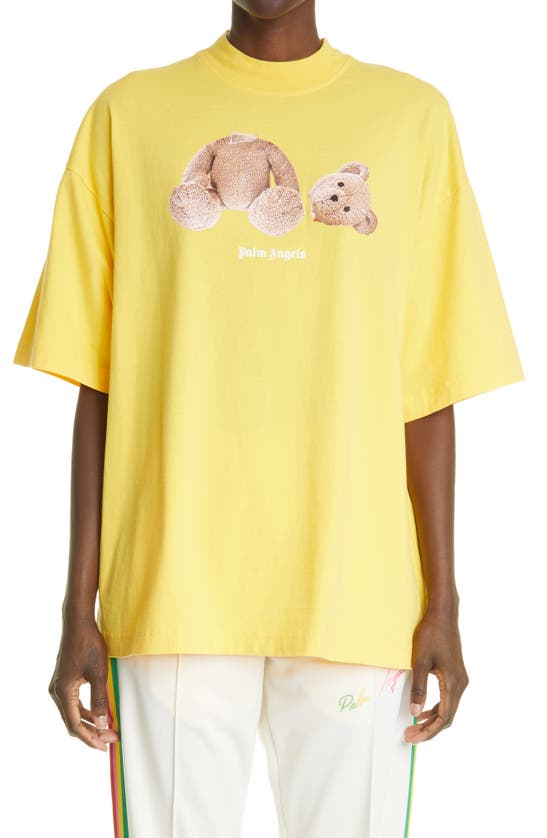 Palm Angels BEAR OVERSIZE GRAPHIC TEE