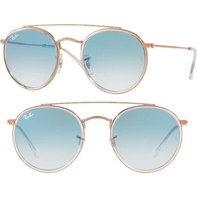 Ray-Ban 51Mm Aviator Gradient Lens Sunglasses -