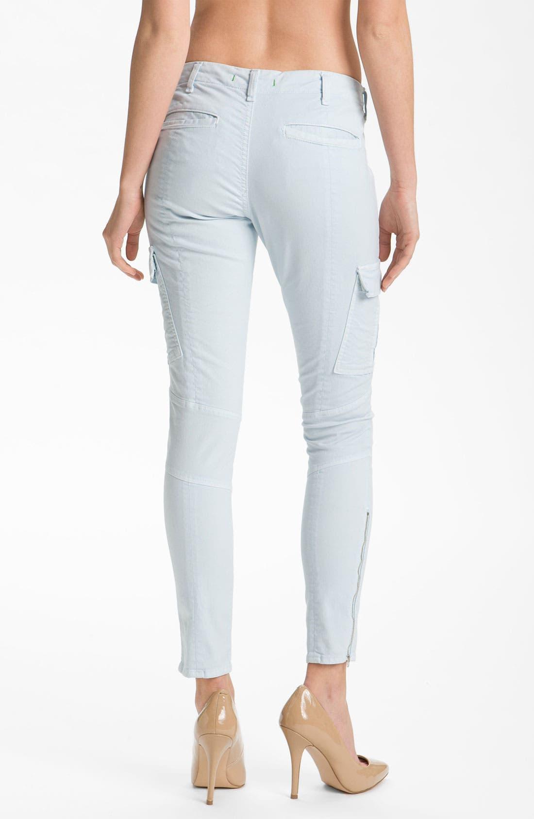 ,                             'Houlihan' Skinny Stretch Cotton Cargo Pants,                             Alternate thumbnail 15, color,                             452