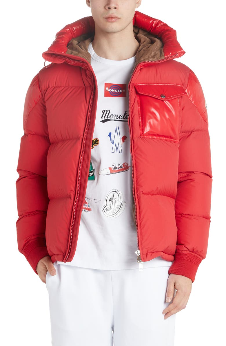 Eloy Quilted Hooded Puffer Coat by Moncler
