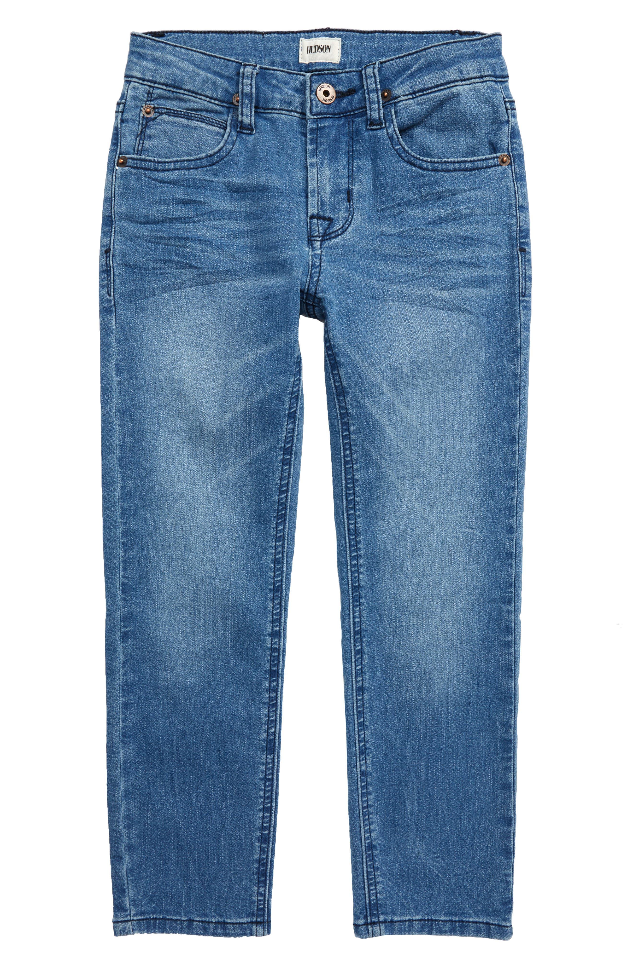Boys Hudson Jeans Jagger Slim Fit Straight Leg Jeans