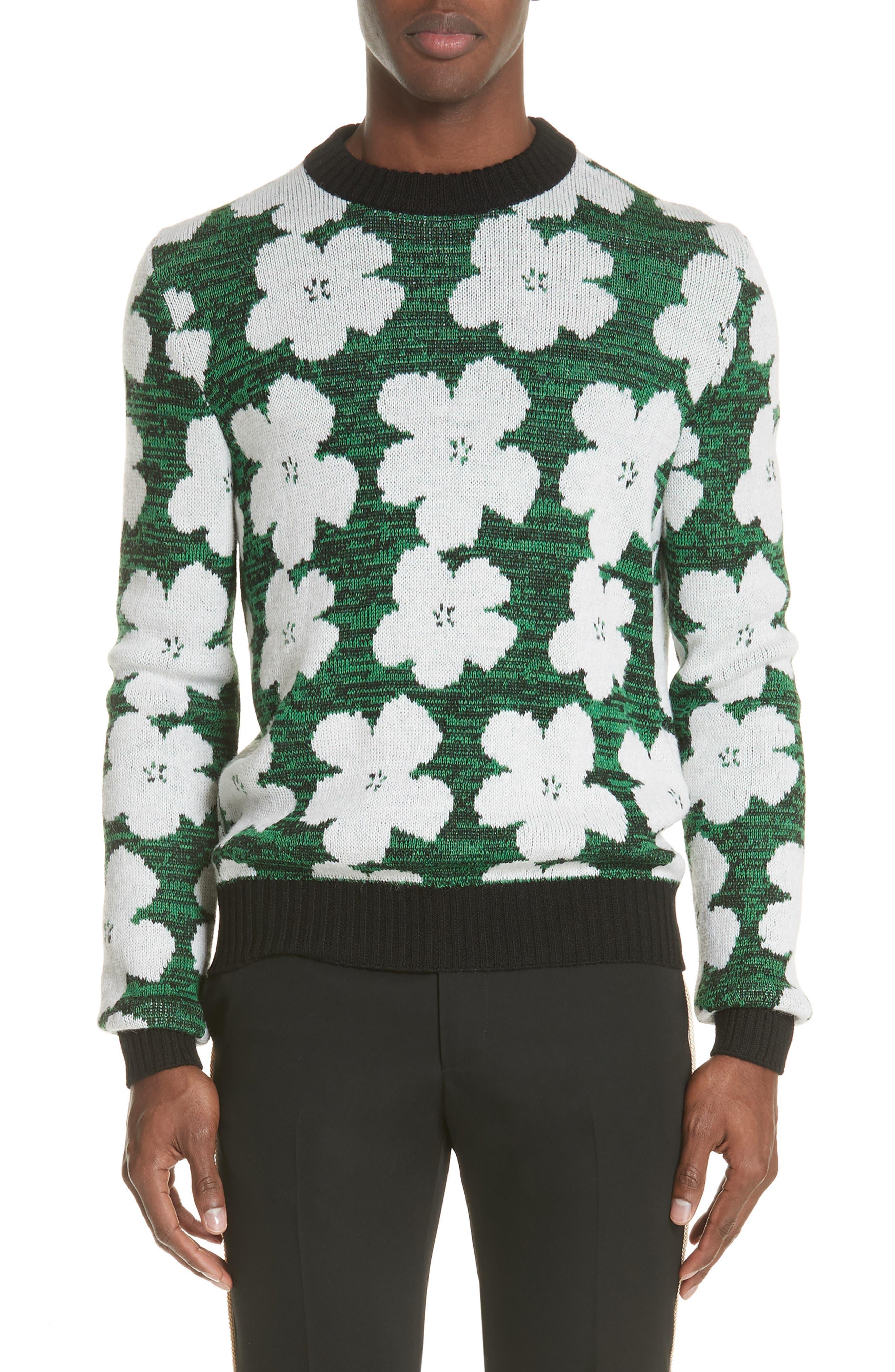 Andy Warhol Flower Sweater