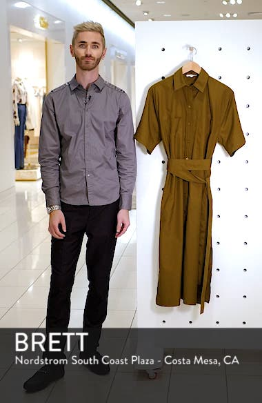 Utility Shirtdress, sales video thumbnail