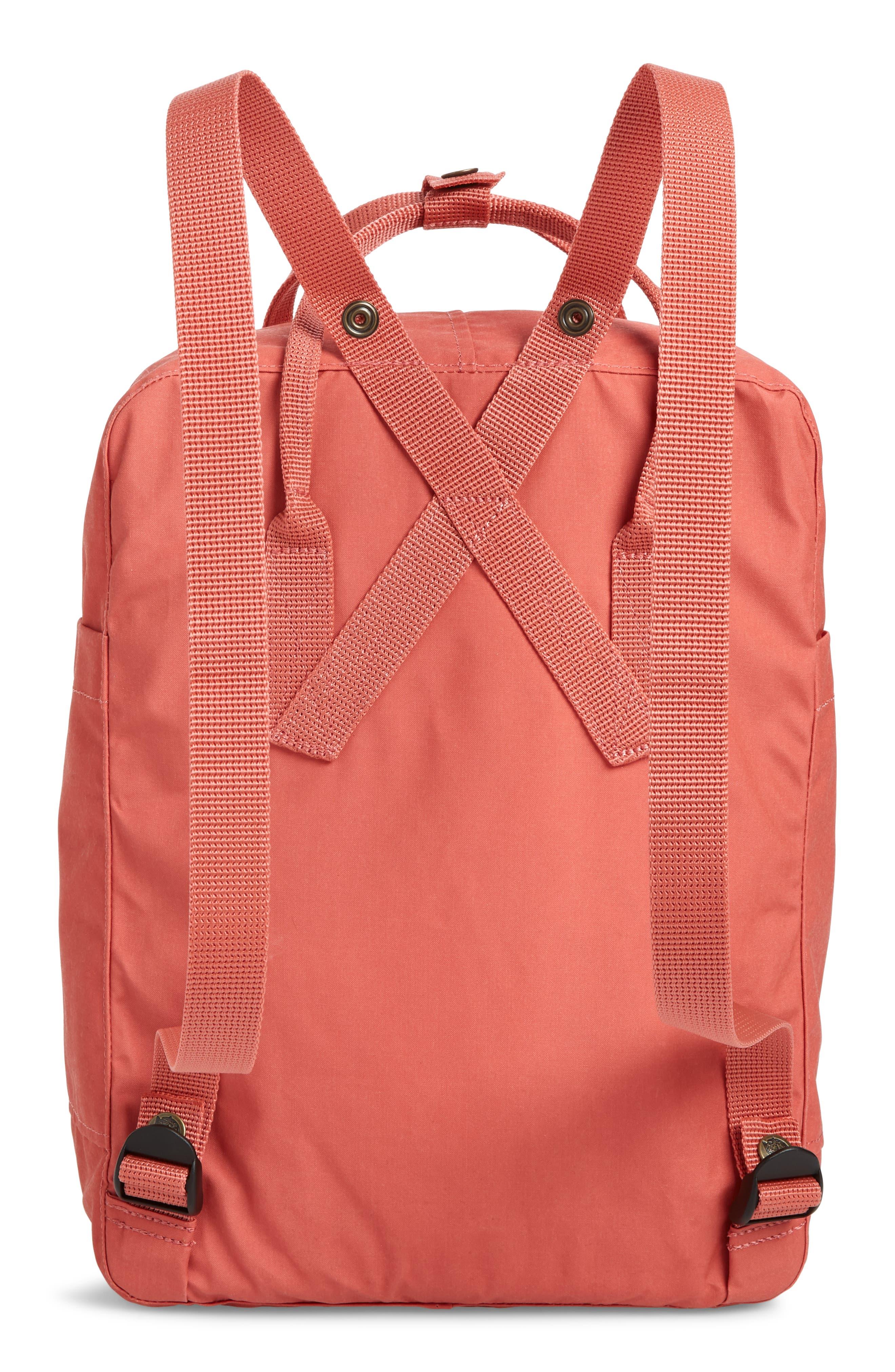 ,                             Kånken Water Resistant Backpack,                             Alternate thumbnail 4, color,                             DAHLIA