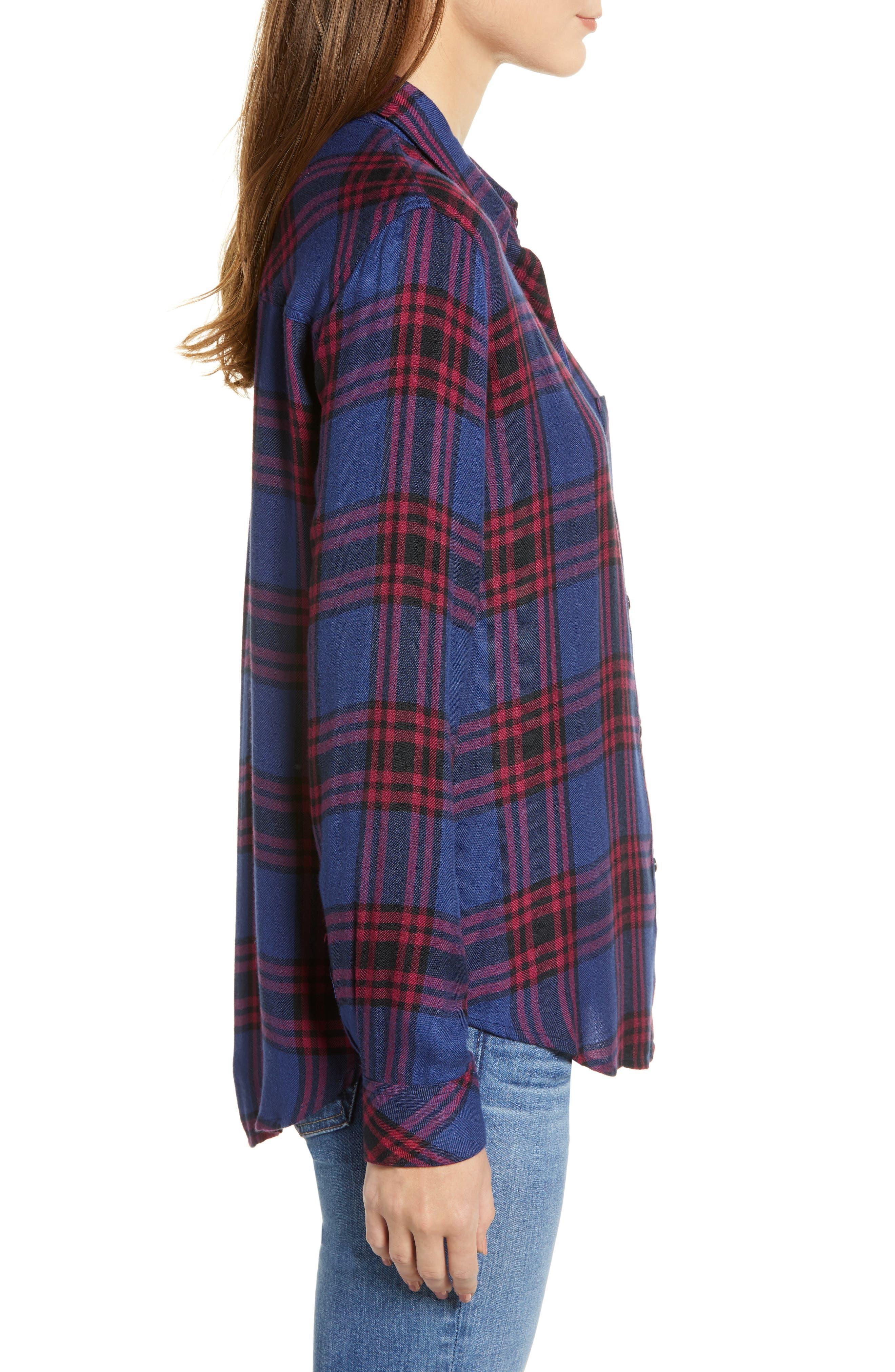 ,                             Hunter Plaid Shirt,                             Alternate thumbnail 381, color,                             450