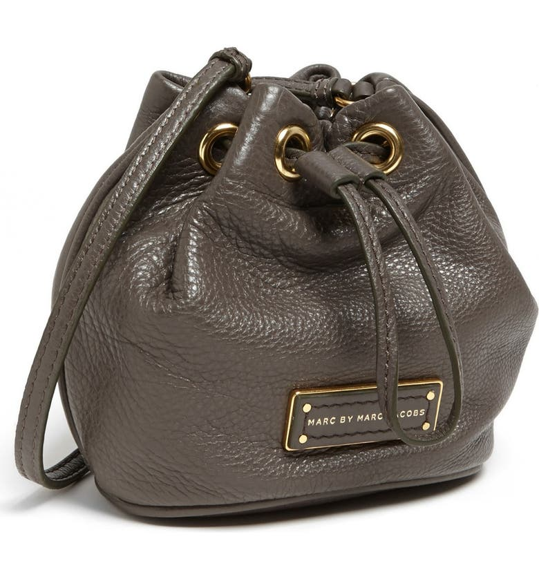 f1b1a0fd1 MARC BY MARC JACOBS 'Too Hot to Handle - Mini' Leather Drawstring Crossbody  Bag