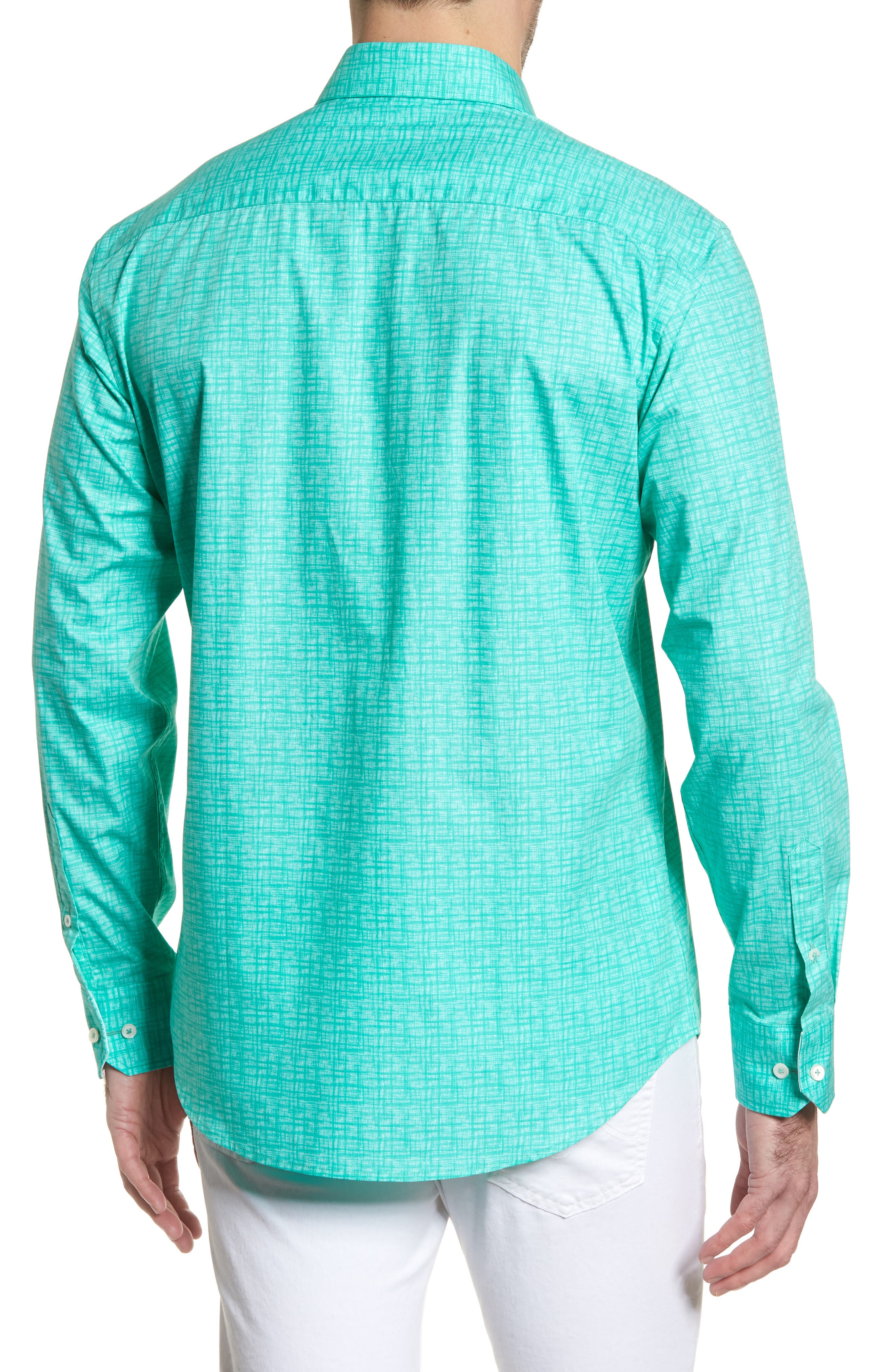 ,                             Shaped Fit Freehand Sport Shirt,                             Alternate thumbnail 2, color,                             313