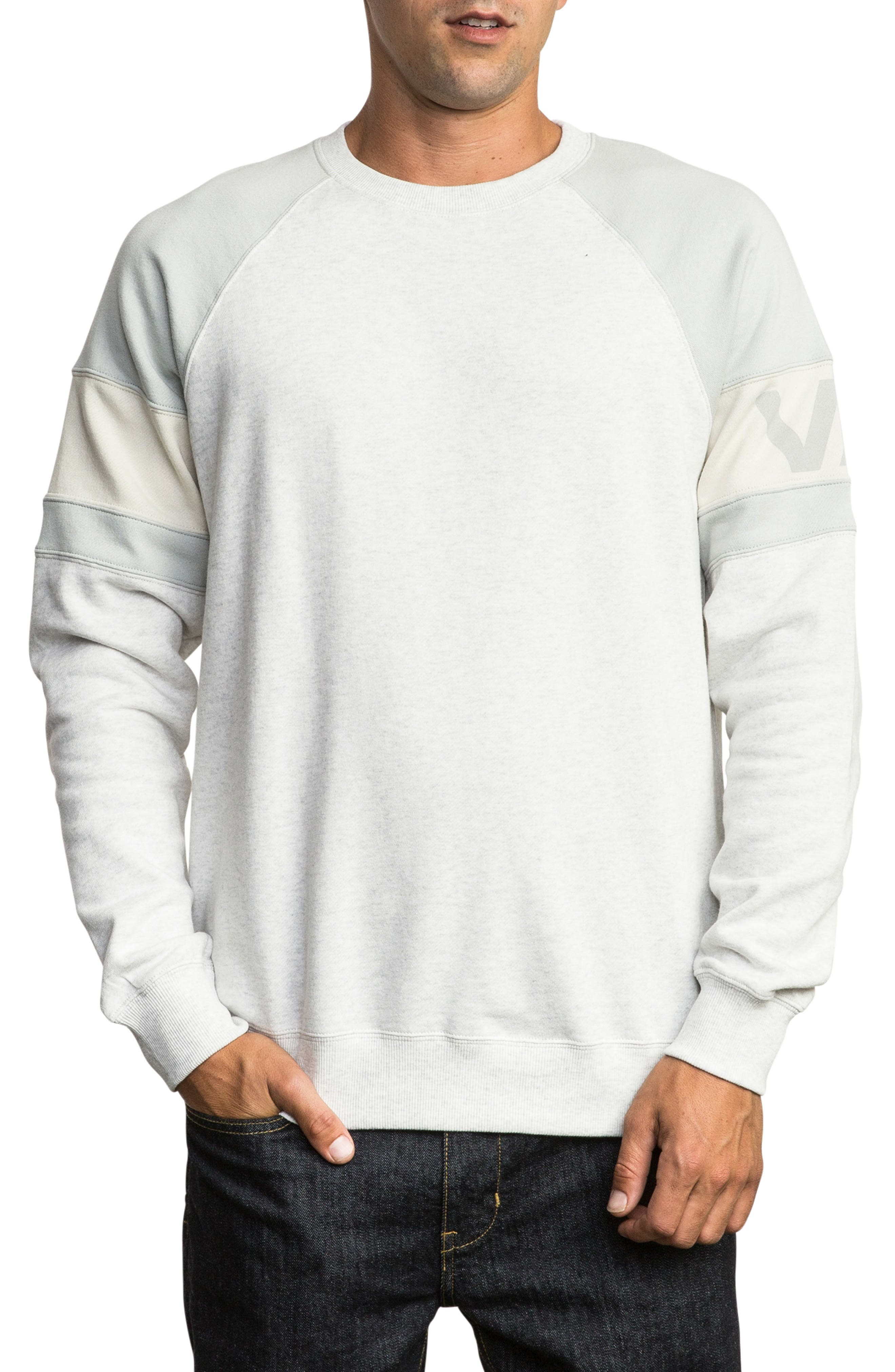 Benny Sweatshirt, Main, color, SNOW MARLE