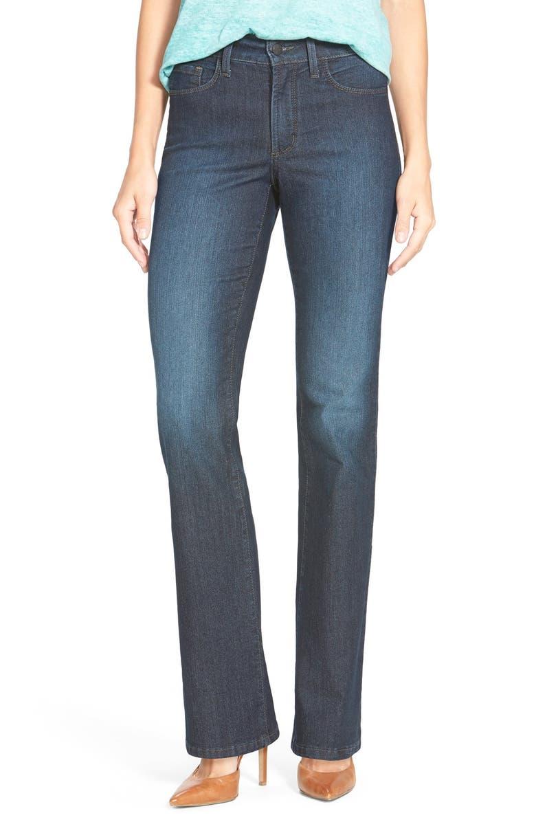 NYDJ Barbara High Waist Stretch Bootcut Jeans, Main, color, 415