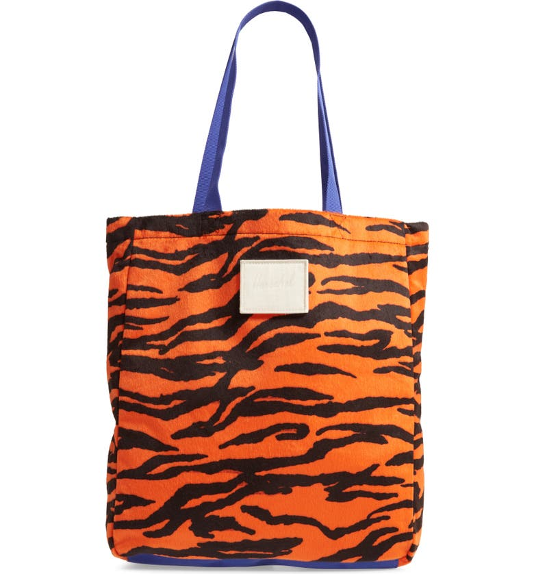 HERSCHEL SUPPLY CO. North/South Tote, Main, color, TIGER/ ROYAL BLUE