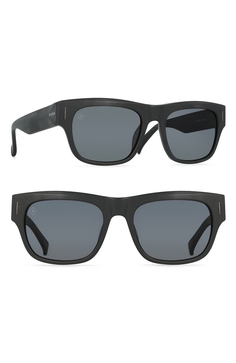 RAEN Lenny 55mm Polarized Sunglasses, Main, color, 002
