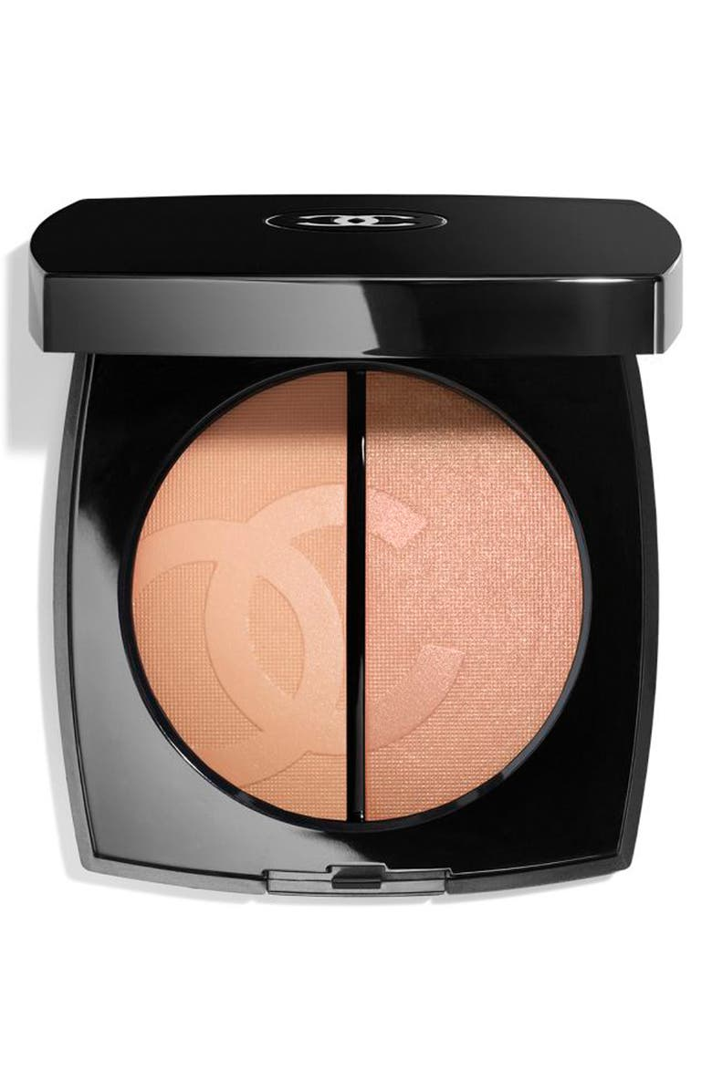 CHANEL CRUISE <br />Bronzer and Highlighter Duo, Main, color, CLAIR