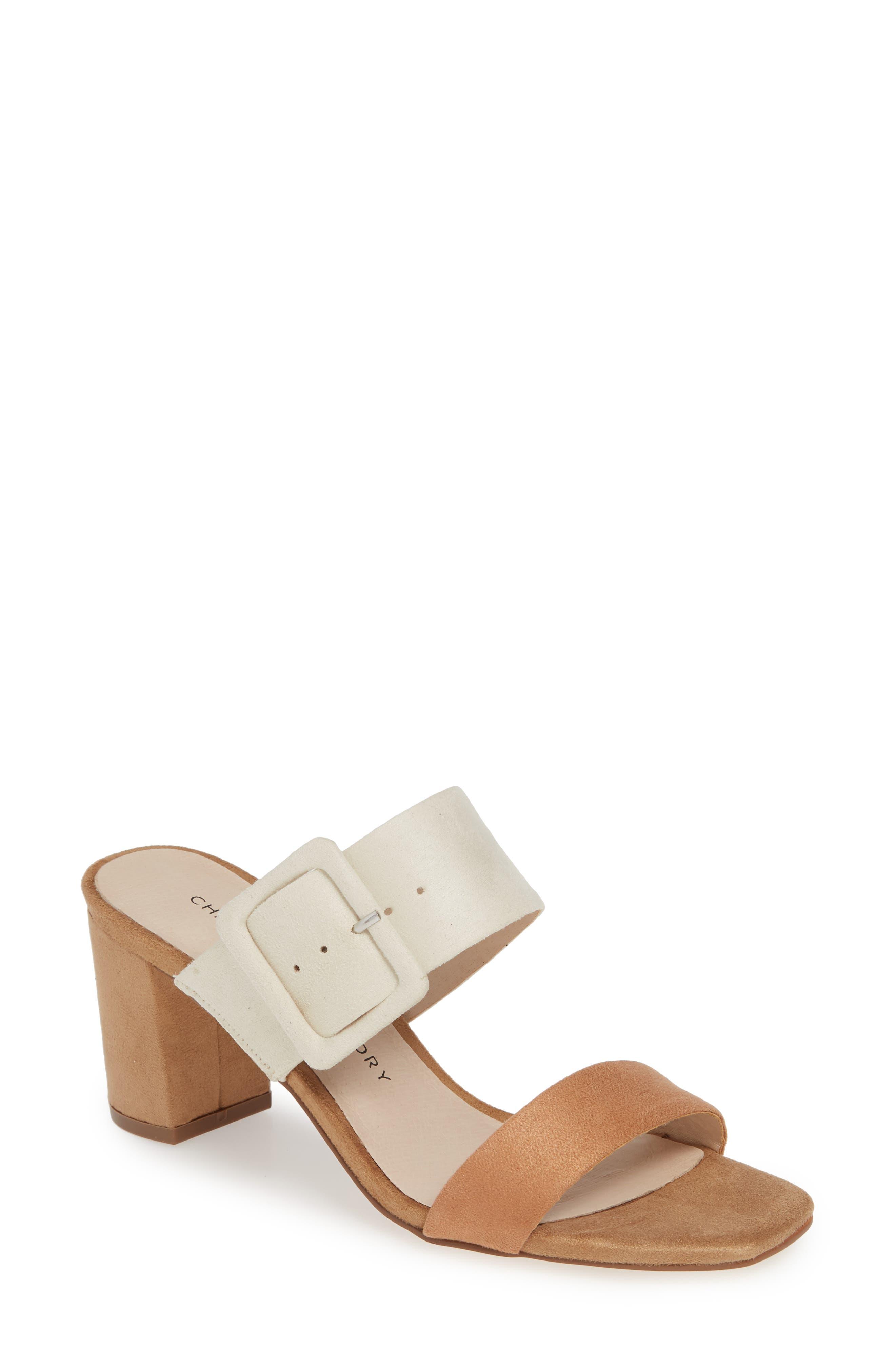 Yippy Block Heel Sandal