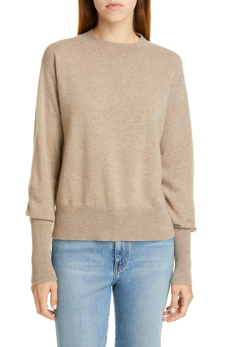 SOFIE D'HOORE Cashmere Sweater, Main, color, SAND MELANGE