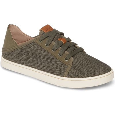 Olukai Pehuea Li Convertible Sneaker, Green
