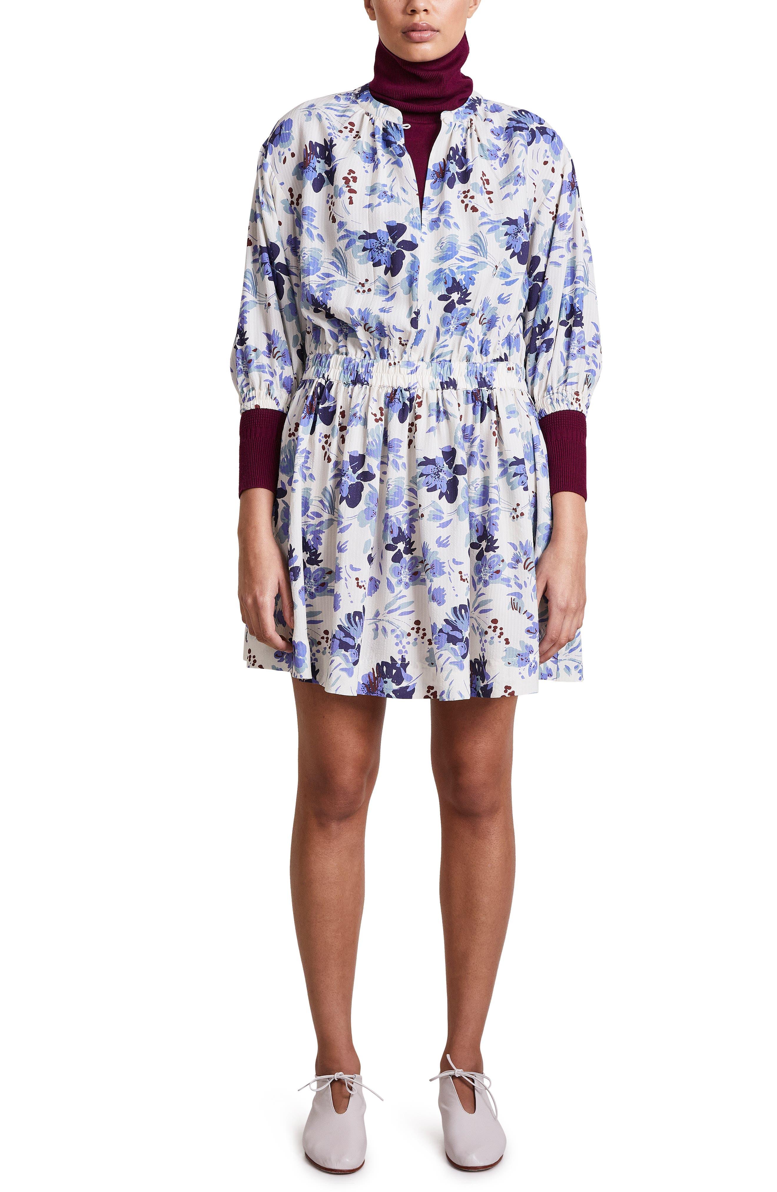Mona Long Sleeve Minidress