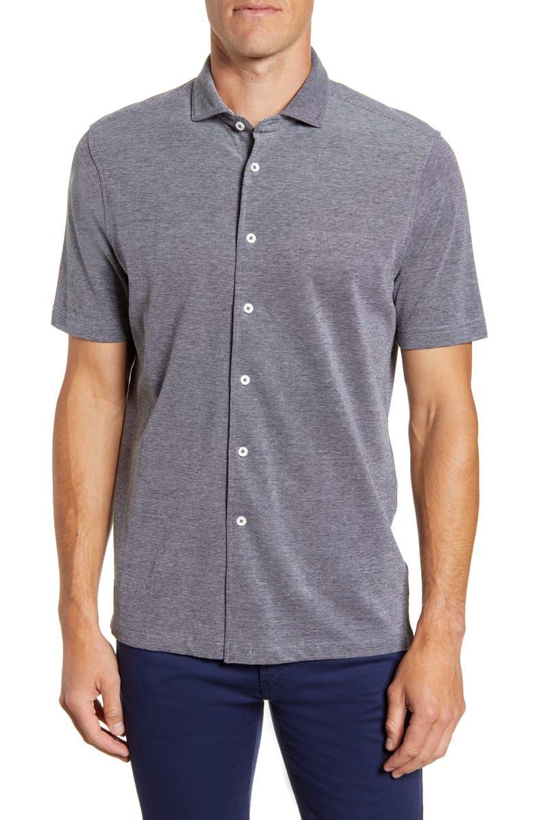 BUGATCHI Regular Fit Knit Shirt, Main, color, 058