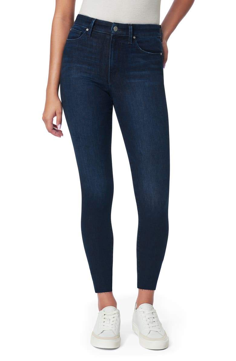JOE'S The Charlie High Waist Crop Skinny Jeans, Main, color, SNAPDRAGON