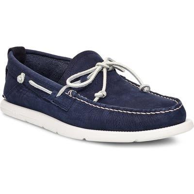 Ugg Beach Moc Boat Shoe- Blue