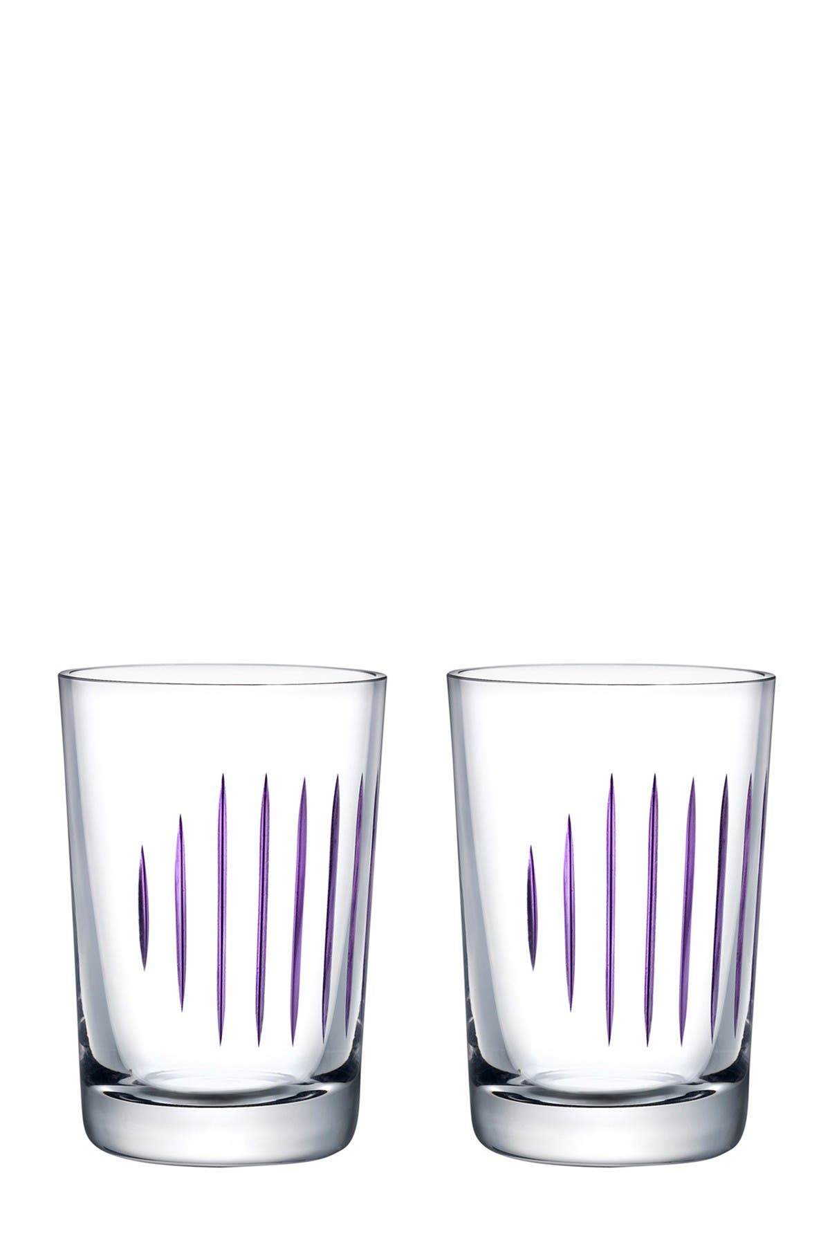 Image of Nude Glass Parrot Water Glasses - Clear - Set of 2