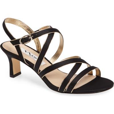 Nina Genaya Strappy Evening Sandal W - Black