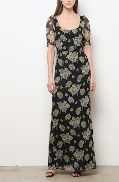 Floral Print Maxi Dress, video thumbnail